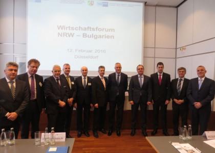 Participation in Economic Forum North Rhine-Westphalia – Bulgaria